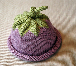 Berry Baby Hat pattern by Michele Sabatier