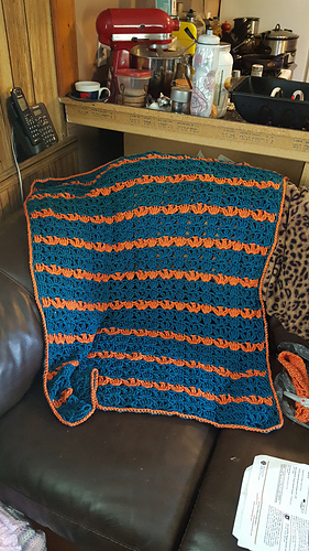Ravelry One Skein Throw Lacy Lap Throw Pattern By Mary