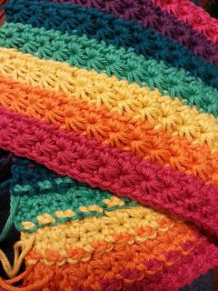 Ravelry Crochet Star Stitch Dishcloth Baby Washcloth