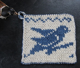 Ravelry Double Knit Bird Dishcloth Hotpad Lessons Pattern