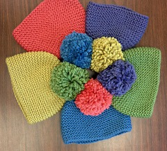 Free Knitting Pattern Garter Stitch Hat : Ravelry: Toboggan Garter Stitch Hat pattern by Susan Mills