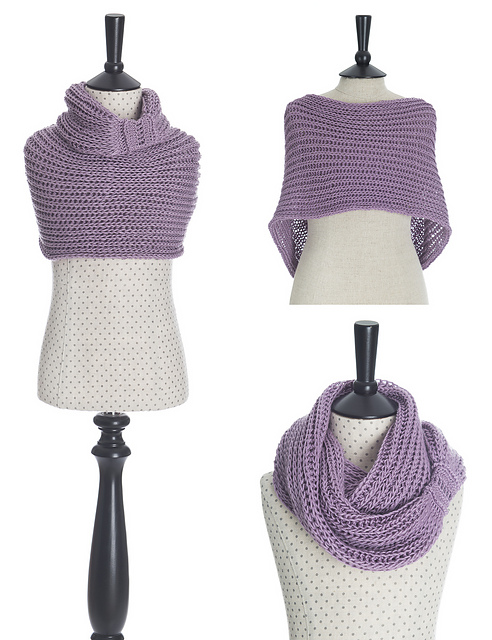 Ravelry: Meringue Hand Knitted Cowl pattern by Alla Koval