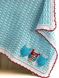 Ooak Baby Boy Blanket Pattern By Alla Koval Ravelry