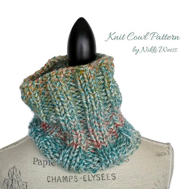 Ravelry Hometown Usa Knit Cowl Pattern By Nikki Weiss