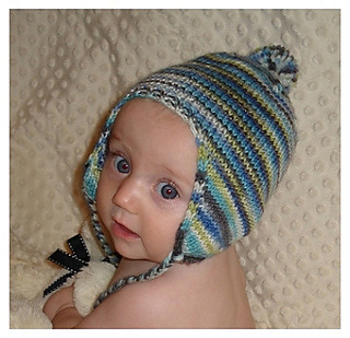 Ravelry Babee Chullo Baby Earflap Hat Pattern By Bobbi Padgett