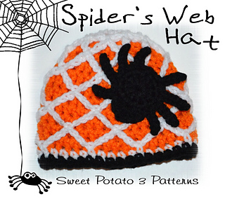 924a8643892 Ravelry  Spider Web   Fish Net Hat pattern by Sweet Potato 3