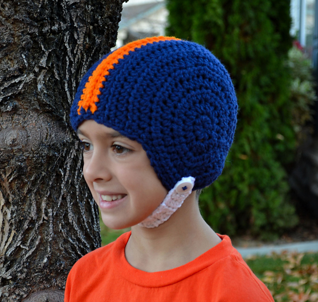 Ravelry Football Helmet Pattern By Sweet Potato 3