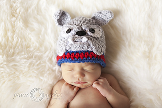 09cc46d178c Ravelry  Bulldog Beanie pattern by Sweet Potato 3
