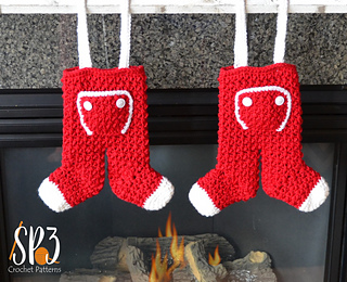 Ravelry: Long John Christmas Stockings pattern by Christins from ...