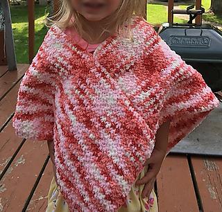 Ravelry: Tiny Blanket Toddler Poncho pattern by Pam Stiff
