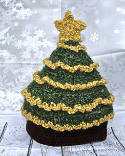 ravelry light me up christmas tree hat pattern by tonya bush