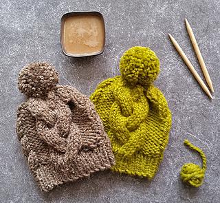 Ravelry  Chunky Knit Pom Pom Hat pattern by Natalya1905 eb8faddaee0