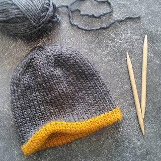 Ravelry: HORIZON - Chunky Knit Double Hat pattern by ...