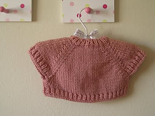 Ravelry quick knit baby shrug pattern by natalie haban dt1010fo