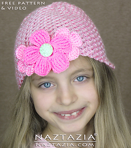 Ravelry: Easy Beginner Crochet Hat pattern by Naztazia