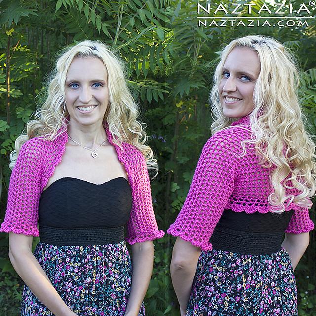 Ravelry Crochet Bolero Shrug Pattern By Naztazia