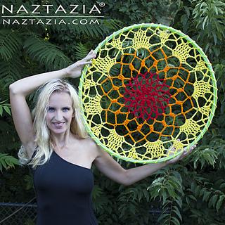 Ravelry Mandala Dream Catcher Pattern By Naztazia