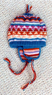 2abeb0af2eba Ravelry  Baby  s Peruvian Hat pattern by Frugal Knitting Haus