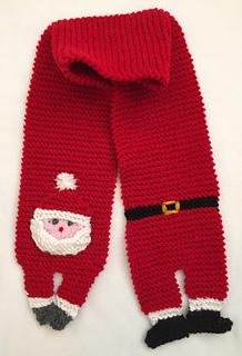 55ed3af5cf1 Ravelry  Santa Scarf pattern by Frugal Knitting Haus