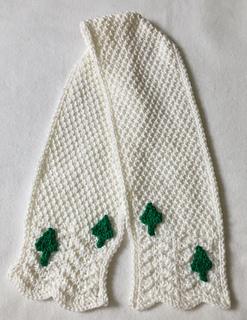b3ada119e72 Ravelry  Snowy Hills Scarf pattern by Frugal Knitting Haus