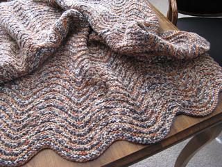 Ravelry Holeless Feather And Fan Blanket Pattern By Kayl