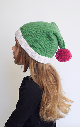 Ravelry mrs claus pointy hat pattern by stephanie lotven