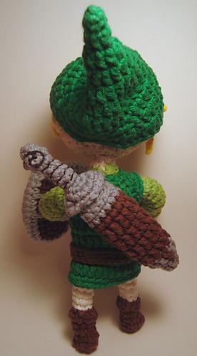 Ravelry Legend Of Zelda Toon Link Amigurumi Pattern By Nerdigurumi