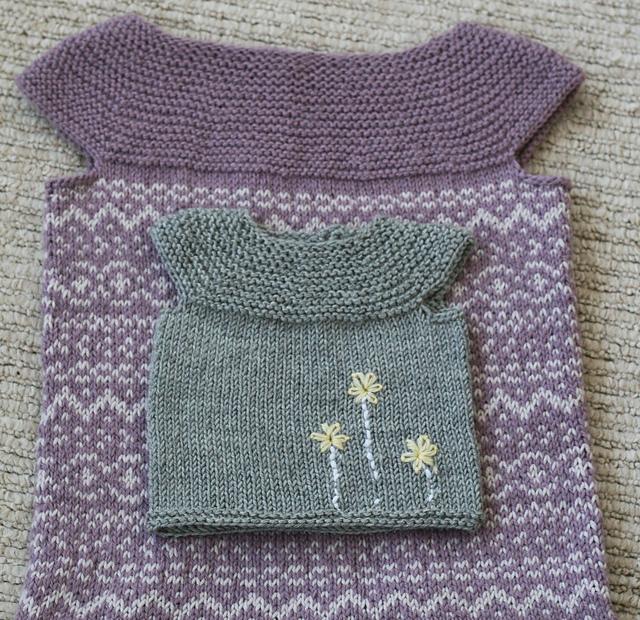 Little Pearl Vest by Gretchen Ronnevik (Copyright Gretchen Ronnevik)