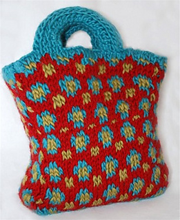 Ravelry: DoodleBug Bag pattern by Authentic Knitting Board