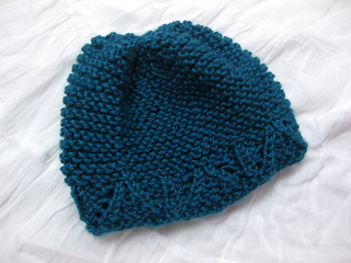 37a5aa4dfda Ravelry  Garter Stitch Baby Hat pattern by Joy Morgan