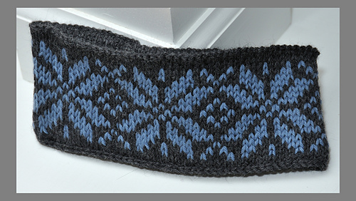 Ravelry: Easy Fair Isle Headbands pattern by Diana Jordan