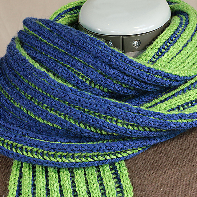 Ravelry Double Brioche Scarf Pattern By Cathy Thompson