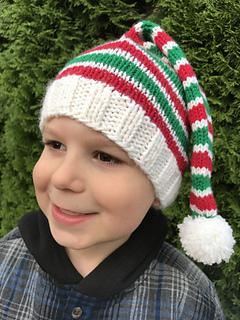 3809efc4cba Ravelry  Santa s Helper Hat pattern by Nona Davenport
