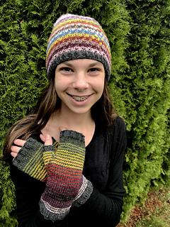 40f881adbd3 Ravelry  Seattle Mosaic Hat pattern by Nona Davenport