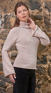 112aa99eb Ravelry   1304 Noni Classic top-down sweater pattern by Nora J. Bellows