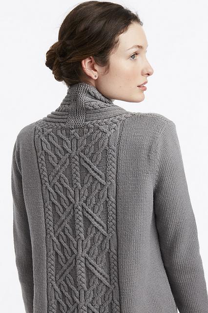 Cardigan tricoté #14 Arbor Cardigan par Norah Gaughan