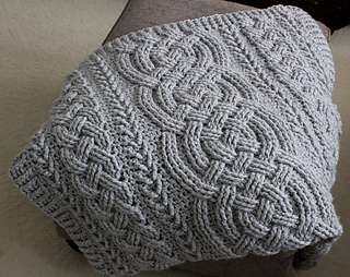 Ravelry Irish Lullaby Cable Blanket Pattern By Noelle Stiles