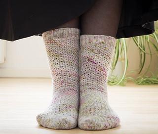 94692caeefe Ravelry  Ember Socks pattern by Alex Anders