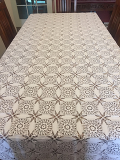 Cathedral Windows Tablecloth ...