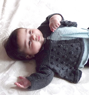 f3d2c7eeb3d5 Ravelry  Baby girls sweater and sleeveless top P034 pattern by OGE ...