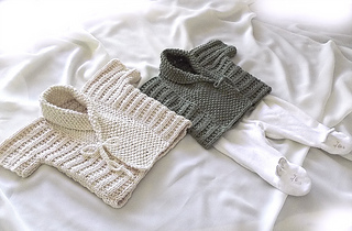 01fdb6289 Ravelry  Baby vest with shawl collar - P051 pattern by OGE Knitwear ...
