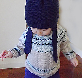 5be74b763 Ravelry  Baby Fair Isle Sweater and Hat P054 pattern by OGE Knitwear ...