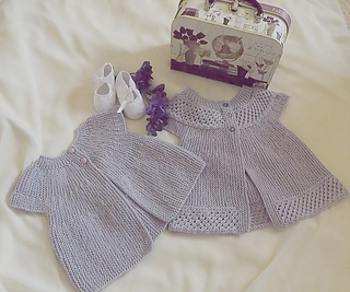 db28ff68c075 Ravelry  Baby angel top - P057 pattern by OGE Knitwear Designs