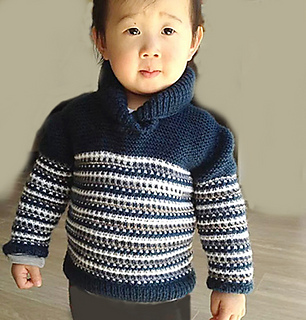 09ff04147 Ravelry  Baby sweater with Shawl collar pattern by OGE Knitwear Designs