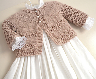 05e657ab2 Ravelry  Round Yoke Cardigan pattern by OGE Knitwear Designs