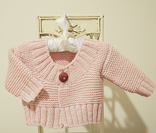 a89c1c376945 Ravelry  Baby Quick Knit Cardigan pattern by OGE Knitwear Designs