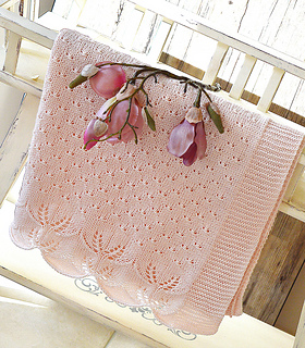 91719e2d9180 Ravelry  Butterfly Kisses Baby Blanket - P119 pattern by OGE ...