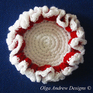 Ravelry Christmas Coasters 014 Pattern By Olga Andrew