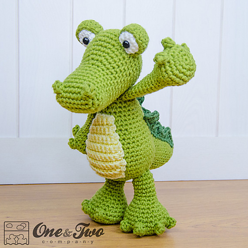 Ravelry Crocodile Amigurumi Pattern By Carolina Guzman