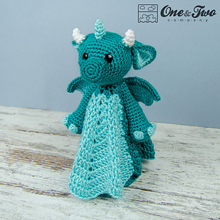 Ravelry Felix The Baby Dragon Lovey Pattern By Carolina Guzman